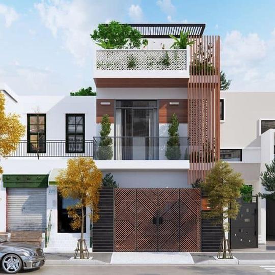 10 mẫu nhà 3 tầng kiến trúc hút mắt nhìn là muốn xây năm 2020 - Ảnh 2.