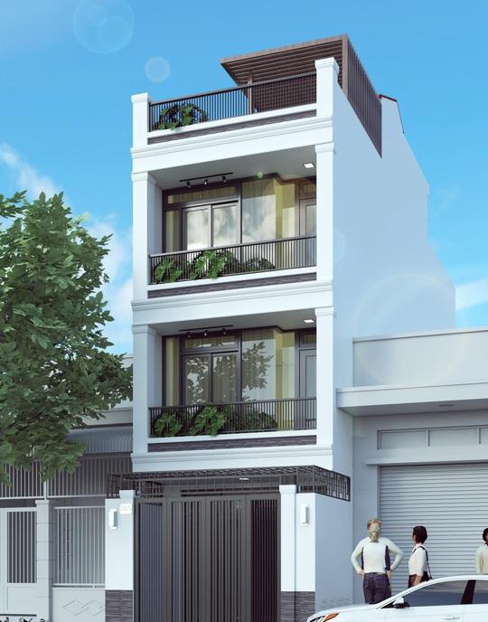 10 mẫu nhà 3 tầng kiến trúc hút mắt nhìn là muốn xây năm 2020 - Ảnh 3.