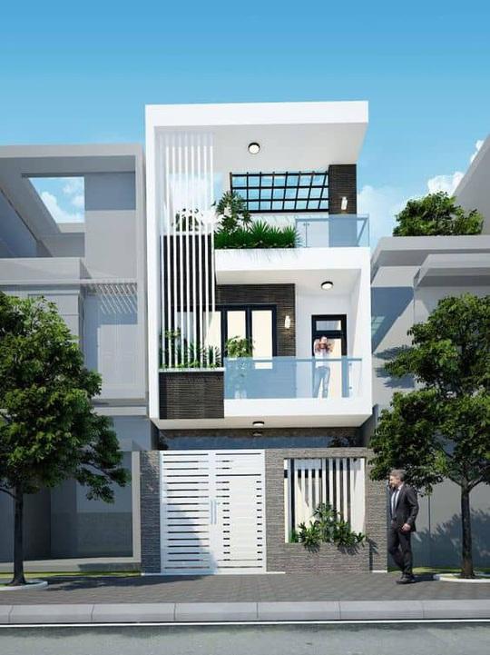 10 mẫu nhà 3 tầng kiến trúc hút mắt nhìn là muốn xây năm 2020 - Ảnh 7.