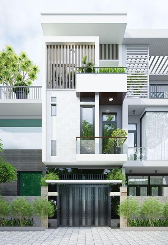 10 mẫu nhà 3 tầng kiến trúc hút mắt nhìn là muốn xây năm 2020 - Ảnh 8.