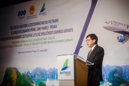 Cấp phép đường bay thẳng đầu tiên giữa Việt Nam và Séc - Ảnh 1.