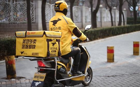 Ngành giao đồ ăn tại Trung Quốc lao đao vì virus corona - Ảnh 1.