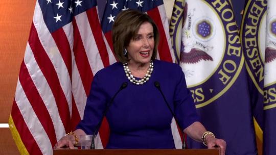 Bà Pelosi: Tổng thống Trump sẽ không bao giờ thoát khỏi vết sẹo luận tội - Ảnh 1.