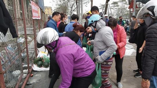 Dân Hà Nội đổ xô mua dưa hấu giải cứu nông dân các tỉnh phía Nam - Ảnh 4.