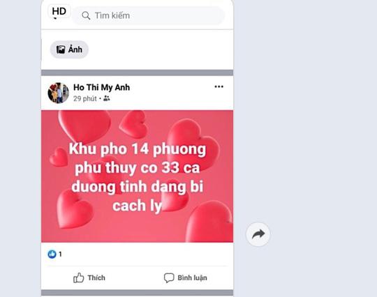 Bình Thuận: Bác bỏ thông tin 33 người mắc Covid-19 chỉ trong 1 phường - Ảnh 2.