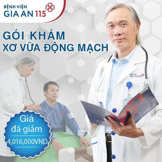 Ưu đãi 20% cho tất cả các gói khám tại Bệnh viện Gia An 115 - Ảnh 1.