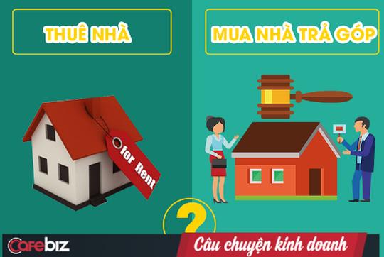 Nên vay tiền mua nhà hay là thuê nhà và để tiền đầu tư? - Ảnh 1.