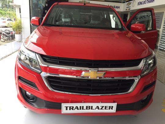 Thị trường ôtô xôn xao khi Chevrolet Trailblazer giảm gần 400 triệu đồng - Ảnh 1.