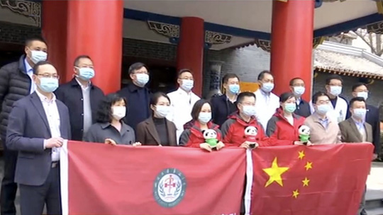 Trung Quốc gửi chuyên gia y tế đến Ý hỗ trợ chống Covid-19 - Ảnh 1.