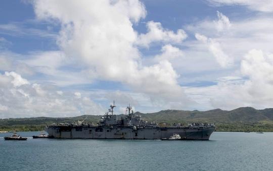 Lính hải quân Mỹ nhiễm Covid-19 trên tàu - Ảnh 1.