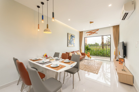 Cận cảnh căn hộ 3 phòng ngủ Lovera Vista đa công năng sử dụng - Ảnh 2.