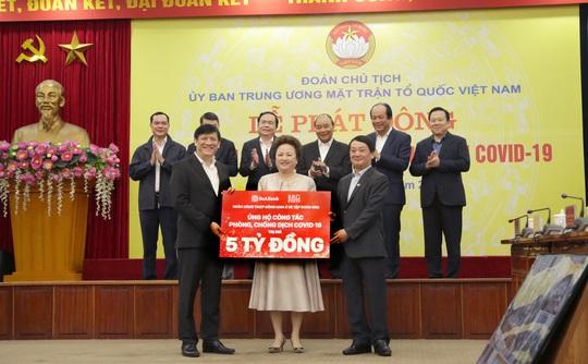 SeABank và Tập đoàn BRG đóng góp 5 tỉ đồng phòng chống Covid-19 - Ảnh 1.