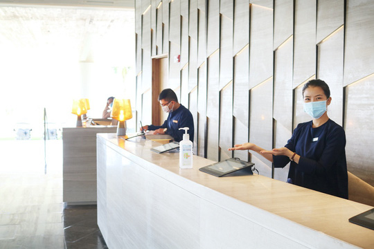 Khách sạn, resort tăng cường phòng, chống dịch Covid-19 - Ảnh 3.