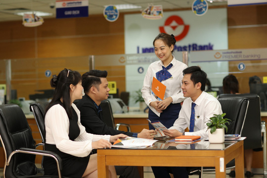 LienVietPostBank cho vay ưu đãi tiếp sức sản xuất kinh doanh - Ảnh 1.