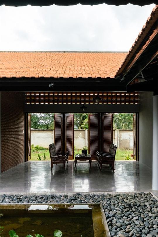 Vẻ đẹp nhà 3 gian truyền thống đặc trưng của người Nam Bộ - Ảnh 12.