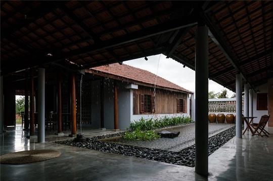 Vẻ đẹp nhà 3 gian truyền thống đặc trưng của người Nam Bộ - Ảnh 4.