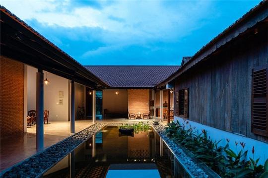 Vẻ đẹp nhà 3 gian truyền thống đặc trưng của người Nam Bộ - Ảnh 5.
