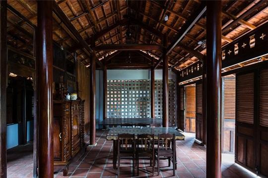 Vẻ đẹp nhà 3 gian truyền thống đặc trưng của người Nam Bộ - Ảnh 8.