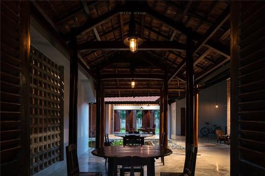 Vẻ đẹp nhà 3 gian truyền thống đặc trưng của người Nam Bộ - Ảnh 9.