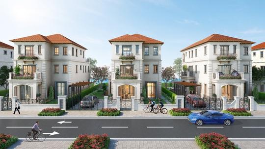 Sắc màu Địa Trung Hải trong lòng đô thị sinh thái thông minh Aqua City - Ảnh 1.
