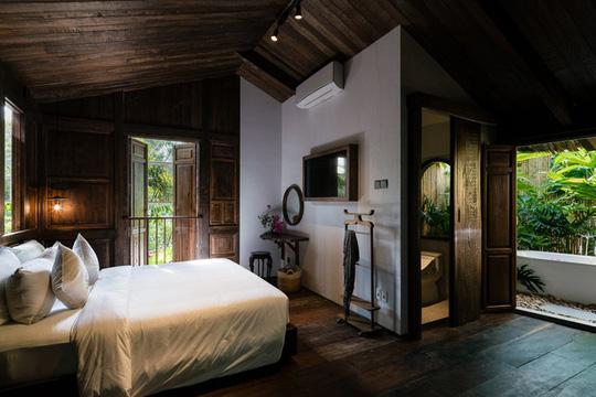Ngôi nhà thiết kế truyền thống với phòng ngủ lơ lửng - Ảnh 6.