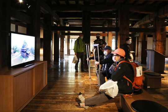 Vẻ đẹp lâu đài gỗ Nhật Bản - Ảnh 11.