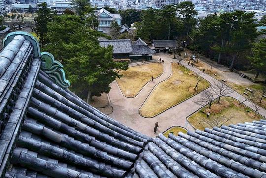 Vẻ đẹp lâu đài gỗ Nhật Bản - Ảnh 5.