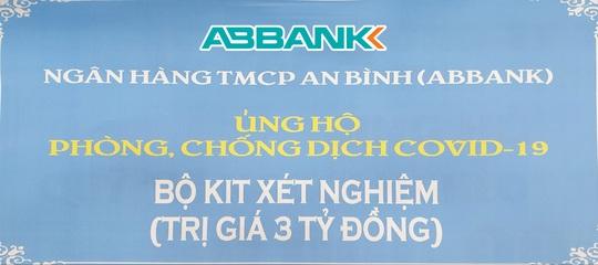 ABBANK đóng góp 3 tỉ đồng để phòng, chống dịch Covid-19 - Ảnh 1.