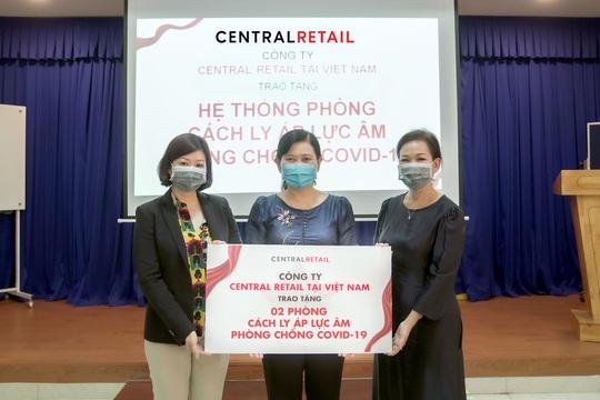 Đại gia bán lẻ Thái Lan chi 2 tỉ đồng làm 4 phòng cách ly tặng Hà Nội và TP HCM - Ảnh 1.