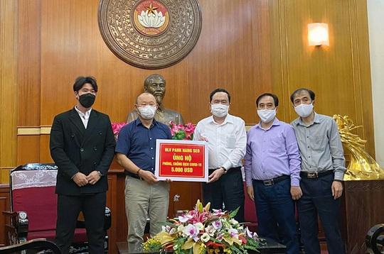 HLV Park Hang-seo ủng hộ 5.000 USD để phòng chống dịch Covid-19 - Ảnh 1.