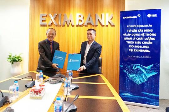 Eximbank nâng cao năng lực theo tiêu chuẩn ISO 9001: 2015 - Ảnh 1.