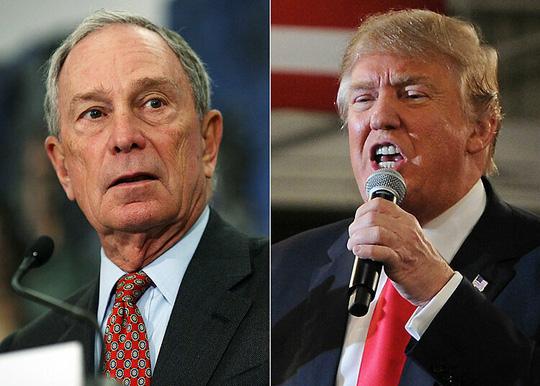 Michael Bloomberg giàu gấp 17 lần ông Donald Trump - Ảnh 1.