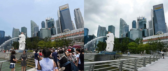 Những điểm du lịch nổi tiếng châu Á trước và sau khi Covid-19 bùng phát - Ảnh 1.