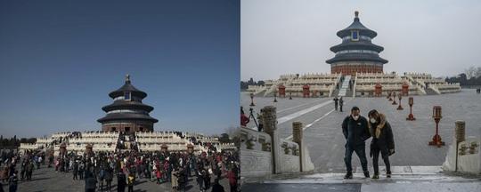 Những điểm du lịch nổi tiếng châu Á trước và sau khi Covid-19 bùng phát - Ảnh 11.