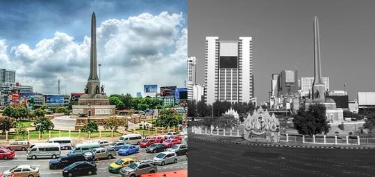 Những điểm du lịch nổi tiếng châu Á trước và sau khi Covid-19 bùng phát - Ảnh 3.