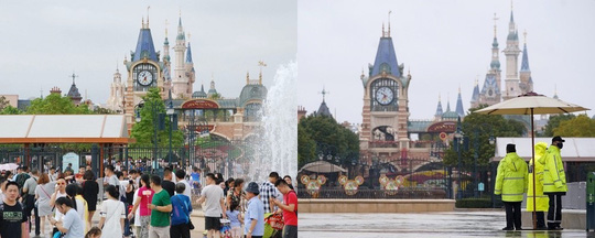 Những điểm du lịch nổi tiếng châu Á trước và sau khi Covid-19 bùng phát - Ảnh 10.