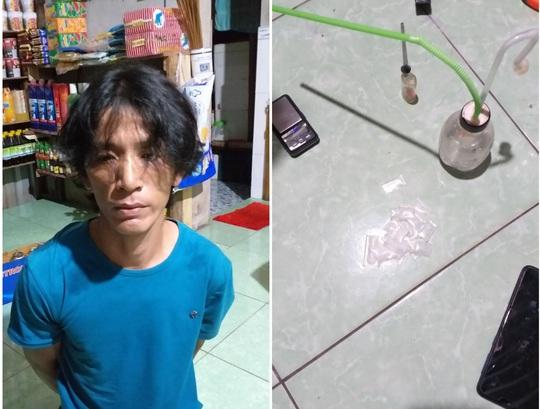Phú Quốc: Bắt đối tượng mua bán ma túy đá lúc 0 giờ - Ảnh 1.
