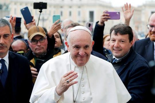 Giáo hoàng Francis xét nghiệm âm tính với virus gây Covid-19 - Ảnh 1.