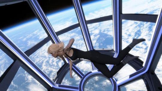 Bên trong ngôi nhà xa xỉ trên vũ trụ - Ảnh 2.