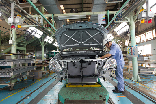 Thêm một hãng xe tại Việt Nam tạm dừng sản xuất vì Covid-19 - Ảnh 1.