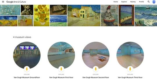 Chuyến tham quan ảo đến 10 bảo tàng nổi tiếng thế giới - Ảnh 7.
