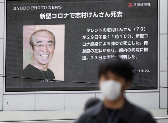 Vua hài Nhật Bản qua đời do mắc Covid-19 - Ảnh 1.