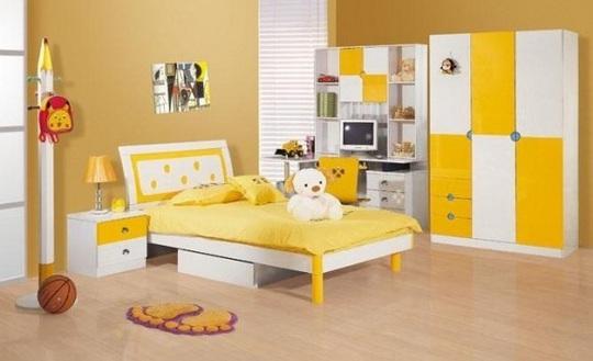 Gợi ý trang trí phòng ngủ kích thích tối đa trí sáng tạo cho trẻ nhỏ - Ảnh 1.