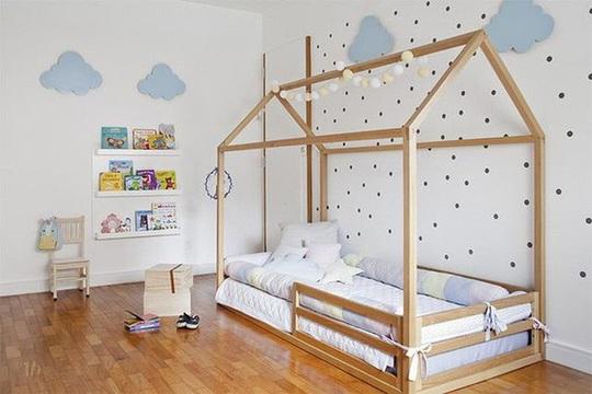 Gợi ý trang trí phòng ngủ kích thích tối đa trí sáng tạo cho trẻ nhỏ - Ảnh 2.