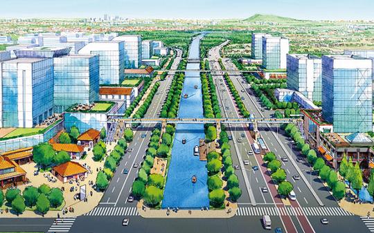 Trình Thủ tướng siêu dự án đô thị sinh thái tại Bắc Ninh - Ảnh 1.