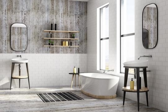 4 lưu ý trong thiết kế giúp phòng tắm vừa đẹp vừa đảm bảo sức khỏe - Ảnh 1.