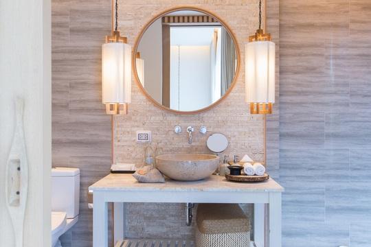 4 lưu ý trong thiết kế giúp phòng tắm vừa đẹp vừa đảm bảo sức khỏe - Ảnh 2.