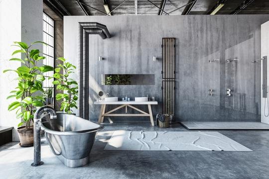 4 lưu ý trong thiết kế giúp phòng tắm vừa đẹp vừa đảm bảo sức khỏe - Ảnh 4.