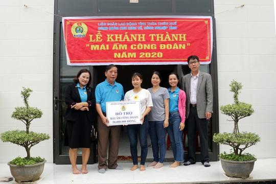 Thừa Thiên - Huế: Hỗ trợ đoàn viên khó khăn về nhà ở - Ảnh 1.