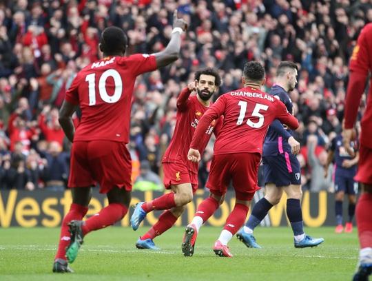 Liverpool giải cơn hạn bàn thắng, sao Ai Cập chạm mốc kỷ lục - Ảnh 3.